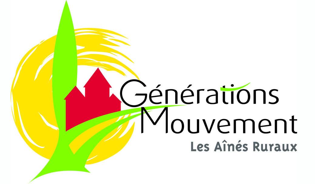 Logo de l'association Générations Mouvement, Les Ainés Ruraux de Lhomme