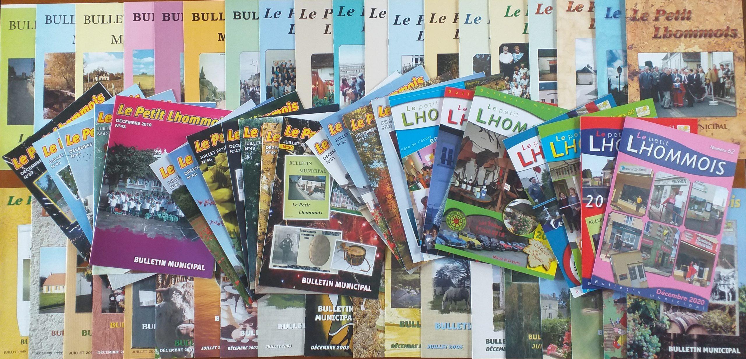 Collections des bulletins municipaux