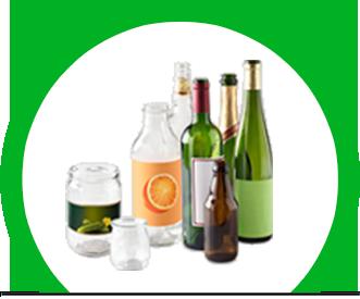 Logo de tri pour des verre