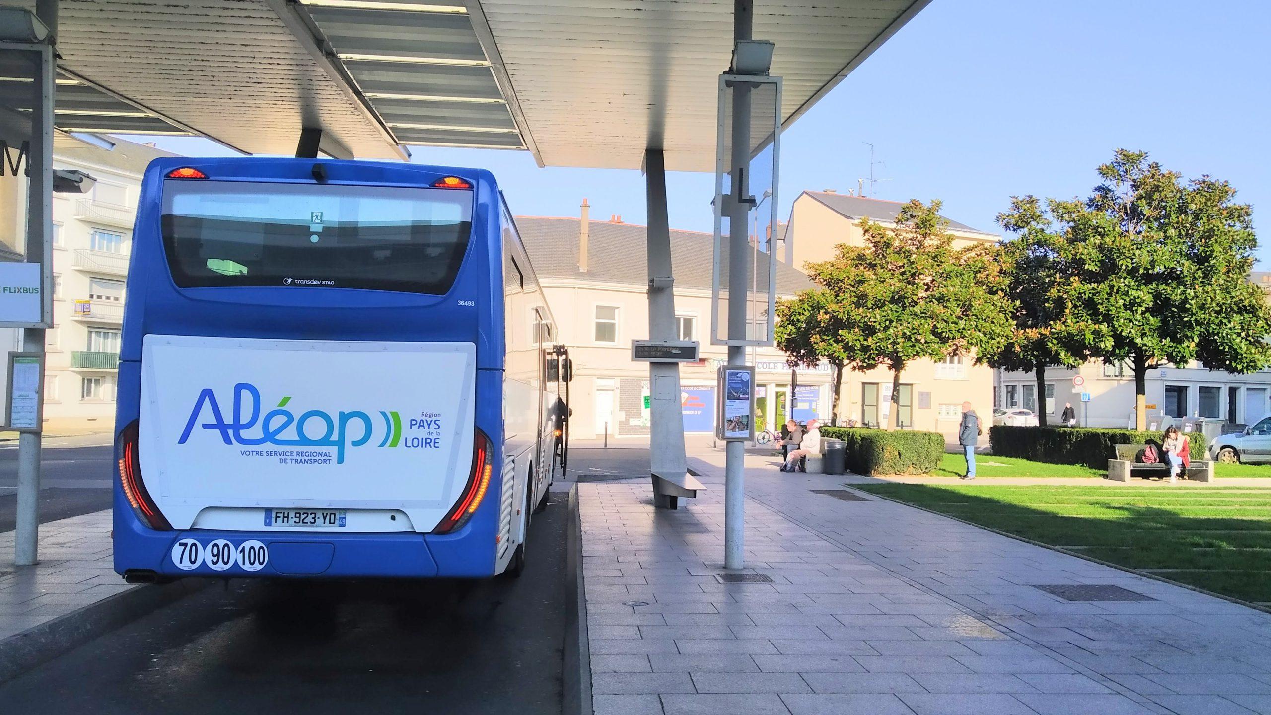 Bus des transports Aléop