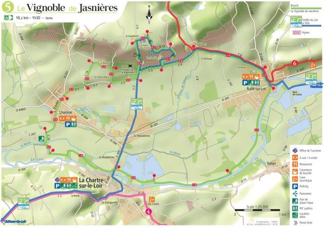 Chemin de randonnée - Boucle 5