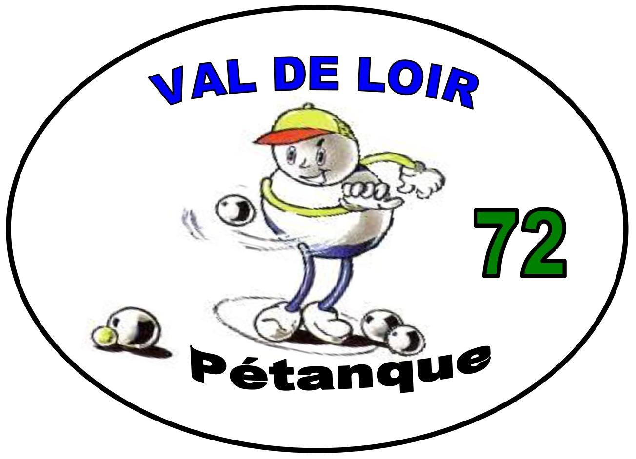 Logo Val de Loir Pétanque 72